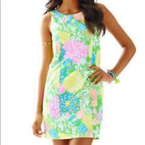 "Lilly Pulitzer ""Cathy"" shift in ""Hibiscus Stroll"""